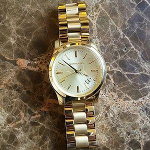 Michael Kors Men Gold Watch